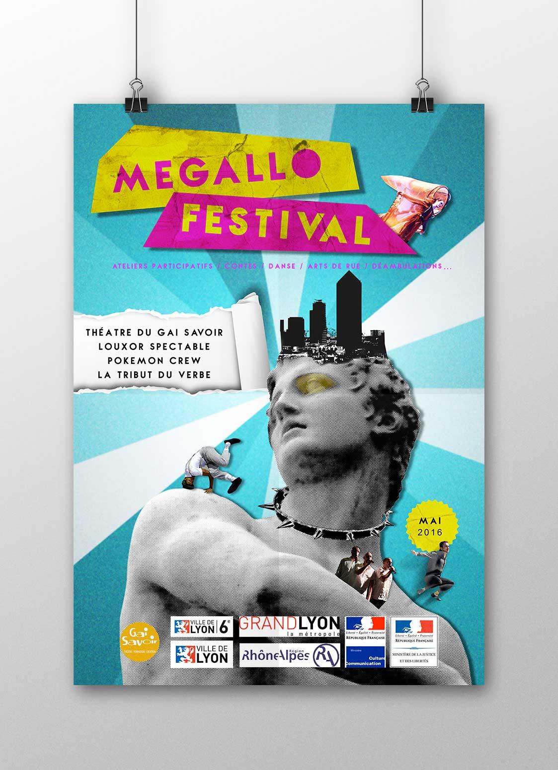 affiche Megallo Festival Lyon