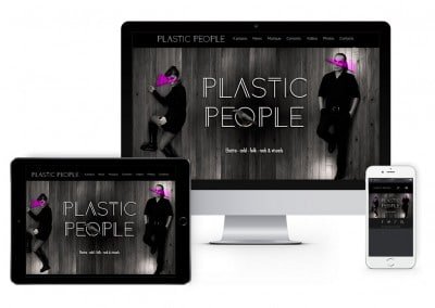 Site du groupe Plastic People
