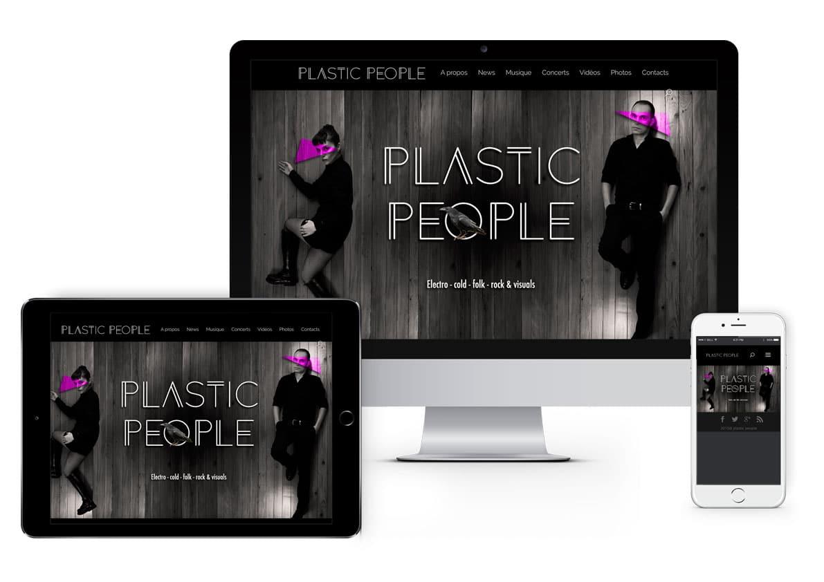 site du groupe de musique PLASTIC PEOPLE