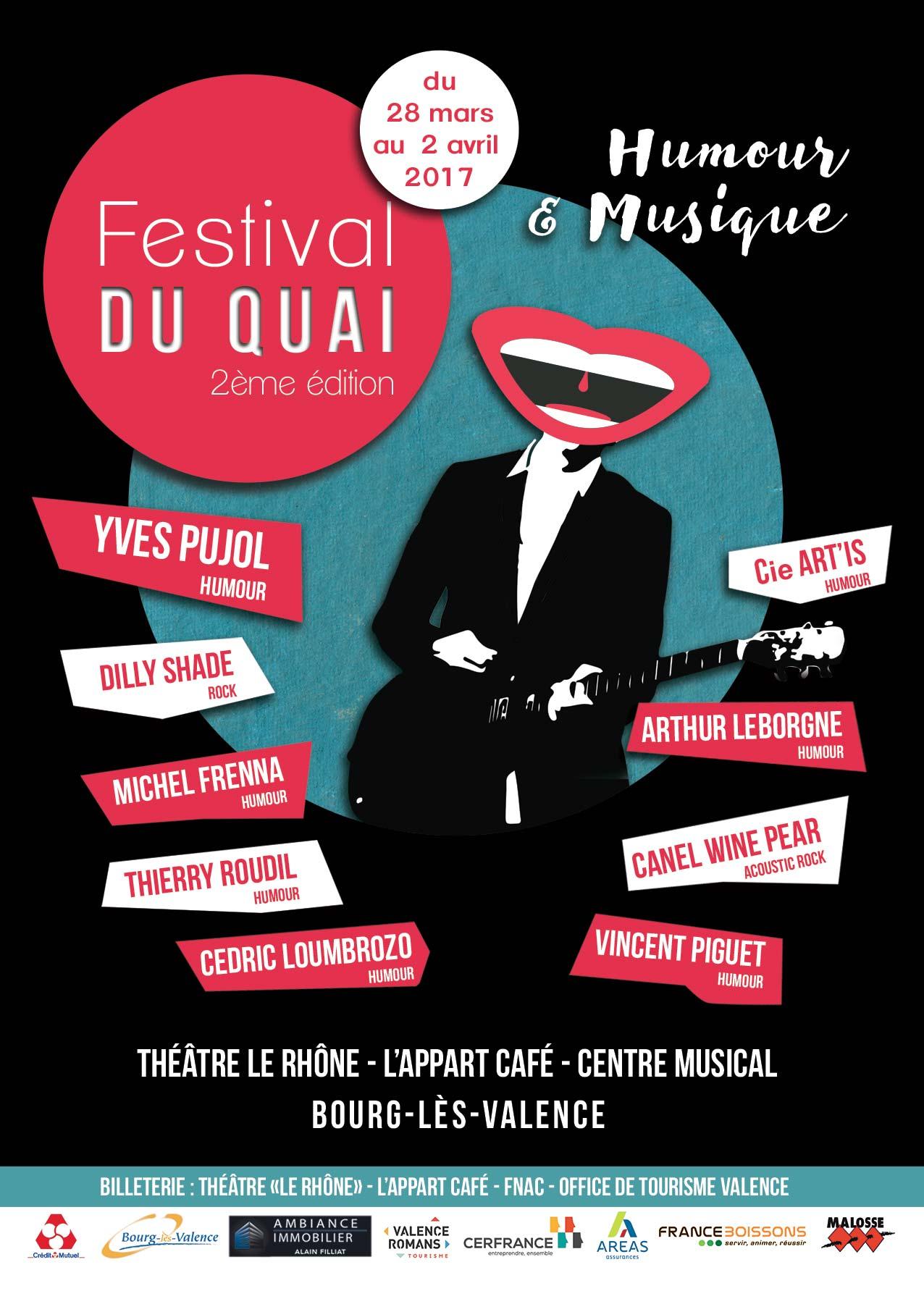 flyer festival du quai Valence recto