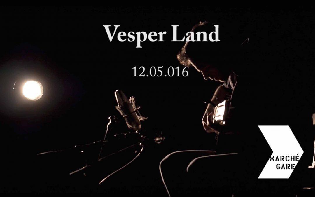 Montage vidéo Vesperland (live – marché gare – Lyon)