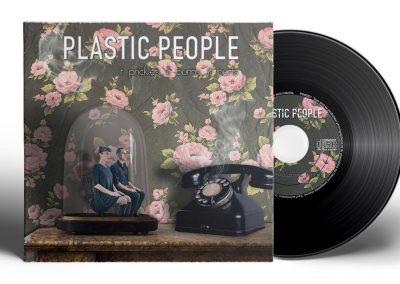Visuels pour le groupe de musique PLASTIC PEOPLE