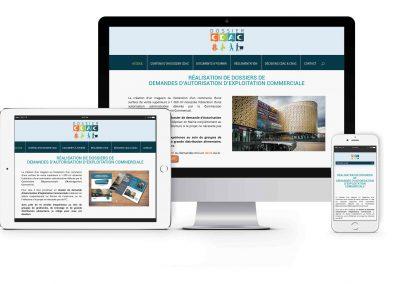 Création site internet dossier-cdac.com