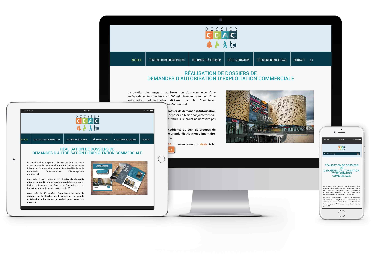 site internet dossier-cdac.com